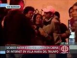 Villa María del Triunfo: Sicarios asesinaron a joven de 4 balazos en la cabeza en cabina de Internet [Video]