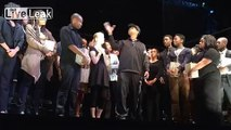 Denzel Washington giving strong advice to Acting Students