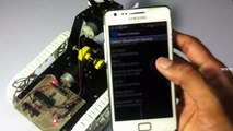 Android Controlled Pick And Place Robotic Arm Vehicle Project