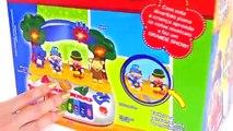 Patati Patatá Piano com Músicas e Bonecos Brinquedos do Patati Patatá Toys Juguetes