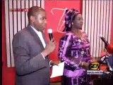 Maimouna N'doye Seck  Ministre transports aériens prononcant sur la disparution de l'avion HS 125