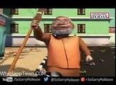 Modi starts cleaning India Funny Animation by Mzondi Lungu