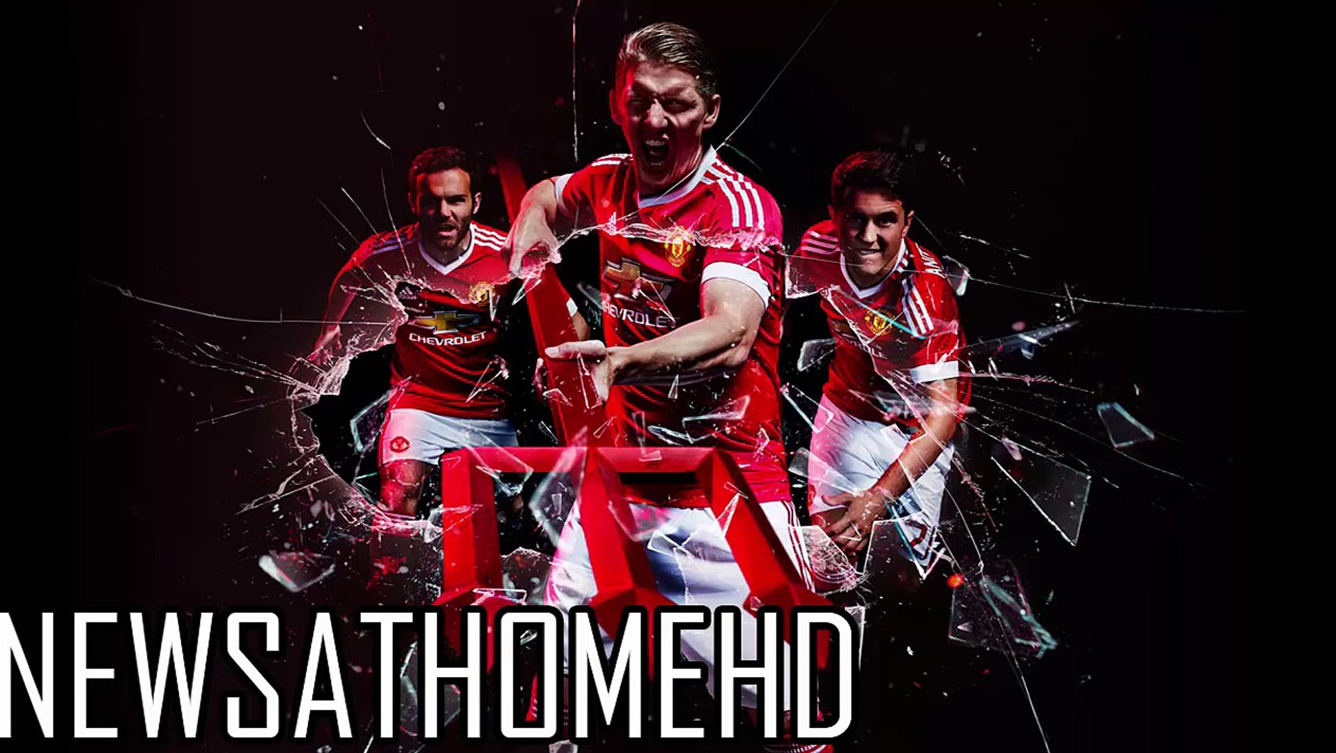 Manchester United New Kit 2015/16 - Adidas, Manchester United Football Club - Man U
