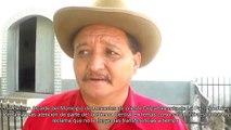Luis Beltran Alcalde de Mercedes de Oriente La paz Honduras reclama apoyo del Gobierno central