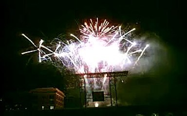 Friday Night Fireworks at Minute Maid Park