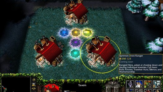 Warcraft Iii Defense Of The Ancients 5 84 Gameplay Video
