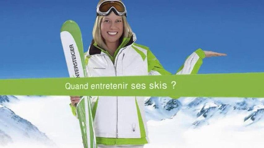 L'entretien des skis