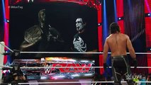 Sting destroys Seth Rollins statue_ Raw, September 7, 2015 WWE Wrestling On Fantastic Videos