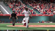 MLB® 15 The Show™ Angel's franchise gameplay vs. CLE Indians