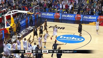 Nemanja Bjelica's Game Winner v Germany! - EuroBasket 2015
