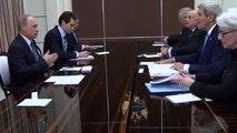 KERRY MEETS PUTIN - John Kerry meets Vladimir Putin Amid Ukraine Crisis and Syria Tensions