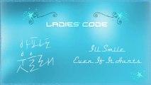 Ladies' Code - I'll Smile Even If It Hurts MV HD k-pop [german Sub]