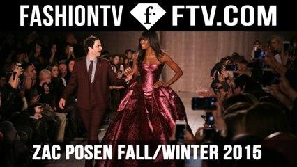 Naomi Campbell in dramatic Zac Posen gown NYFW | FTV.com