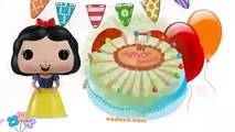 ☁☀Happy Birthday Song Snow White Princess ☁☀Nursery Rhymes Songs for children