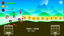 СКОРАЯ ПОМОЩЬ - AMBULANCE - Hill Climb Racing games - Cartoon Сars for kids Android HD