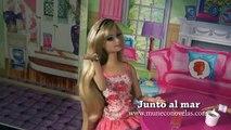 Novela de Barbie - Barbie en español - Junto al mar - Episodio 7 - Tormenta en alta mar