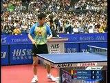 2009 WTTC Men's Singles Final Wang Hao vs Wang Liqin First Game (1 of 4)