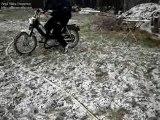 Burn 103 dans la neige
