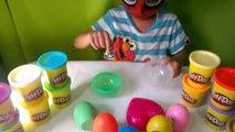 Surprise Eggs Kinder Surprise Play doh Angry Birds Surprise Toys Shrek Kinder eggs Minnie Mouse