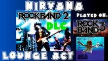 Nirvana - Lounge Act - @RockBand 2 DLC Expert Full Band (October 21st, 2008)(BLOCKED AUDIO)