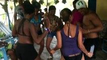 Dansacuba Stage Caraibe  Juillet 2015.Belle ambiance sortie plage à Berraco stage de la caraibe