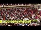 Manuel Valls proclame le nouvel empire galactique / Parodie Star Wars discours Palpatine