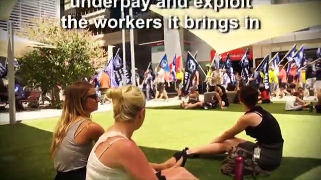 MUA West Coast Branch : Australian Resources Local Jobs - The Chevron Campaign