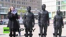 Berlin-Alexanderplatz: Snowden, Assange und Manning aus Bronze für die Meinungsfreiheit