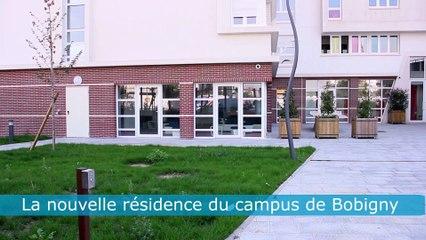 Nouvelle résidence Campus de Bobigny