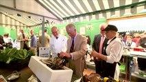 Prince Charles celebrates local produce