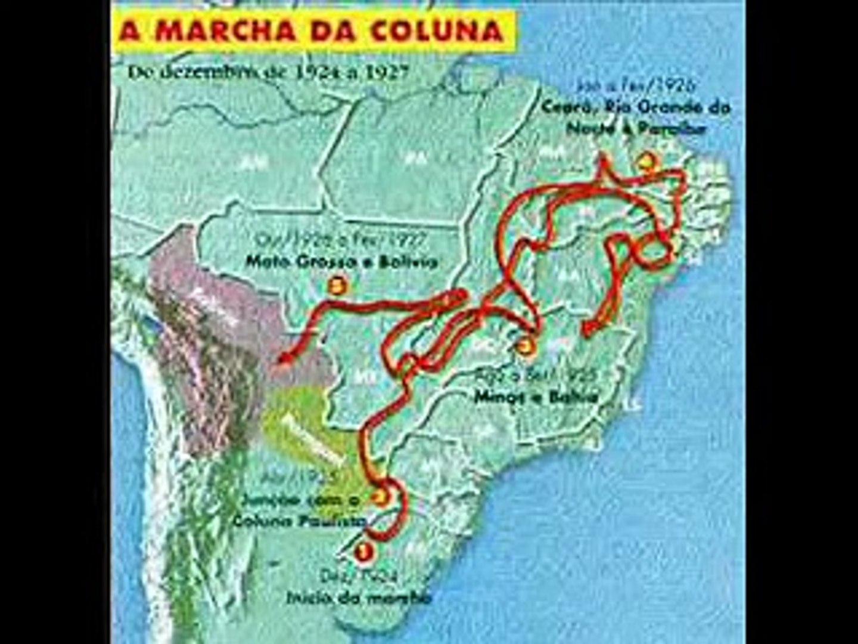 História do Brasil - Coluna Prestes
