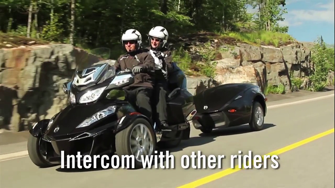Can-Am Spyder Bluetooth Communication System