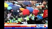 Hong Kong vive nuevas y duras protestas para promover reformas democráticas