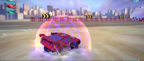 EXTREME Lightning McQueen CARS 2 HD Battle Race Gameplay with Disney Pixar Cars Tow Mater Luigi