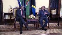 Deputy President Cyril Ramaphosa visits President Jakaya Kikwete of Tanzania