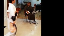 Traditional Japanese Dance with shamisen (踊り, 三味線)
