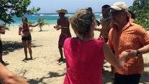 Dansacuba et 100 % Rueda sur la plage.Viva la Salsa!