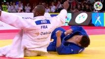 JUDO 2013 Grand Slam Paris: Teddy Riner (FRA) - Sung-Min Kim (KOR) [LEGENDARY IPPON!]