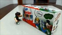 Ben 10 Kinder Surprise Eggs Unboxing & Iron Man Potato Head Stop Motion Animation-Ben 10 Stop Motion