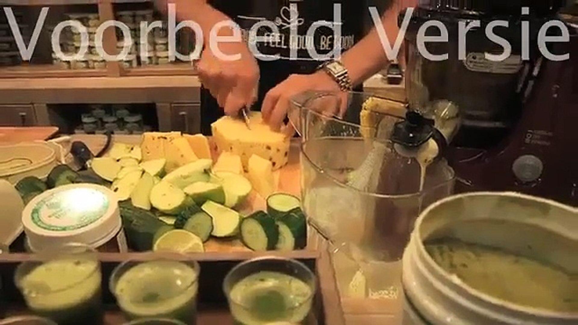 Preview  Bloem met Vital Green Superfood vanaf de Gezondheidsbeurs in rtl4s Life is Beautiful