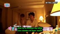 [All about SJ] Ataque a las habitaciones de Ryeowook, Donghae, Yesung y Kyuhyun (sub español)