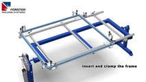 frame welding fixture - (weld jig / welding table) - 4300 (english)