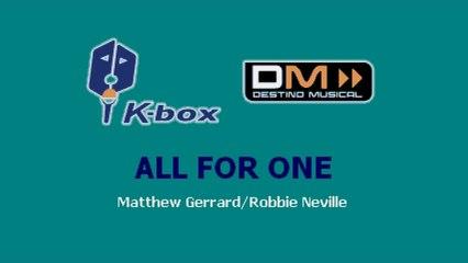 Karaoke Box - All For One (In The Style Of / Al Estilo De : High School Musical) - (Karaoke)