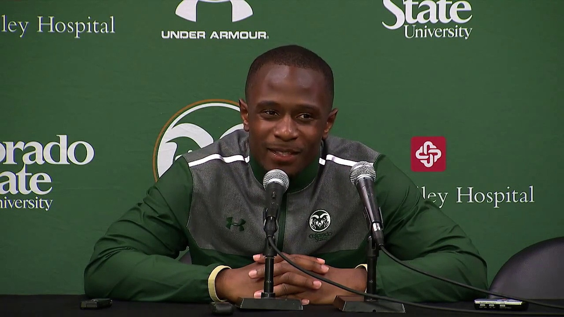 Colorado State vs. Boston College - Charles Lovett III | Postgame Press Conference