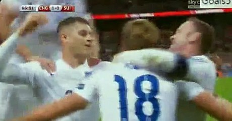 England 2 - 0 Switzerland All Goals and Highlights EURO Qualifications 8-9-2015