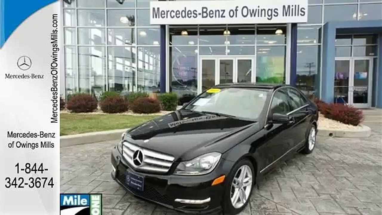 Mercedes Owings Mills >> 2013 Mercedes Benz C Class Owings Mills Md Ba