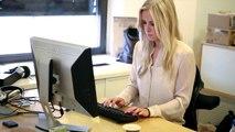 Etter NKH: Thea Olsen jobber som sportsjournalist i TV2