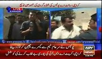 Iqrar ul Hassan & Team Sar e Aam Beaten By Karachi Police For Revealing Corruption 8 September 2015
