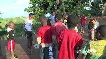 Jean Van de Velde à Madagascar : Sport et enfance
