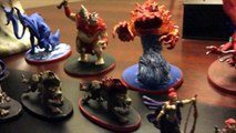 Descent 2.0 miniatures/figurines painted/peintes